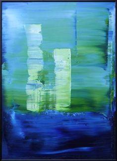 "Saatchi Art Artist Koen Lybaert; Painting, ""abstract N° 1407 - SOLD [UK]"" #art"
