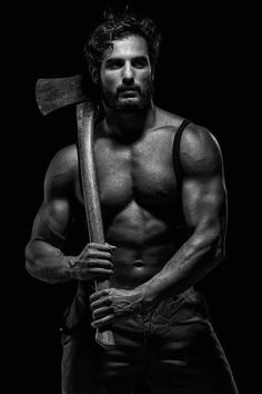 This guy would have been perfect for our #Lumberjack #HunkDay!