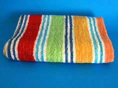 Your place to buy and sell all things handmade Bold Colors, Colours, Surf Shack, Weathered Wood, Coastal Cottage, Beach Towel, Printmaking, Really Cool Stuff, Towels