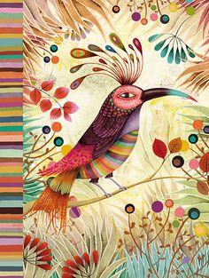 Wonderful imaginary bird