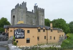 Castles In Ireland- Bunratty Castle, County Clare.  Click on the photo to read the full article about tower house castles in Ireland.