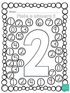 Simples Caixa de Ideias: Caça Números 0-9 Preschool Worksheets, Lessons For Kids, Petra, Teaching, Activities, Letter E Activities, Carnival Activities, Preschool Learning, Name Writing