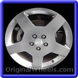 Chevrolet Cobalt 2007 Wheels & Rims Hollander #5216B #Chevrolet #Cobalt #ChevroletCobalt #2007 #Wheels #Rims #Stock #Factory #Original #OEM #OE #Steel #Alloy #Used