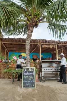 Eat local in St. Lucia / Caribbean style organic dining at The Landings