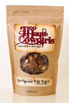 Too Haute Cowgirls' Have Bacon Will Travel - this is an exceptional treat and I declare an addiction is beginning!