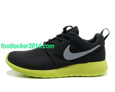 tO354w Mens Nike Roshe Run Anthracite Wolf Grey Cyber $49.93