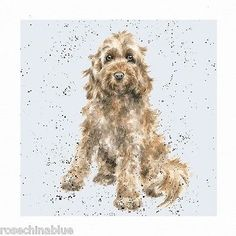 Wrendale Designs A Dog's Life Greeting Card Cockapoo