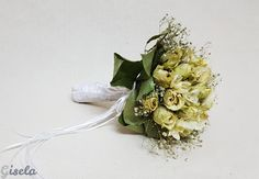 Gisela - Αποξήρανση ανθοδέσμης Wedding Bouquets, Garlic, Wedding Brooch Bouquets, Bridal Bouquets, Wedding Bouquet, Wedding Flowers