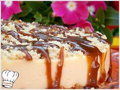 ΓΛΥΚΟ ΨΥΓΕΙΟΥ ΦΥΣΤΙΚΙ ΚΑΡΑΜΕΛΑ!!! | Νόστιμες Συνταγές της Γωγώς Greek Desserts, Summer Desserts, Greek Recipes, Low Calorie Cake, Cheesecake Brownies, How Sweet Eats, Frozen Treats, Confectionery, Food Processor Recipes
