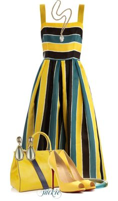 """Stripes"" by jackie22 on Polyvore"