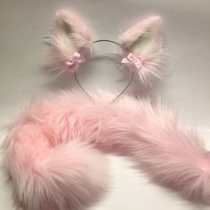 More tails. Outfits Kawaii, Kawaii Clothes, Cute Outfits, Kittens Playing, Baby Kittens, Wolf Ears And Tail, Kitten Play Gear, Moda Lolita, Daddy Kitten