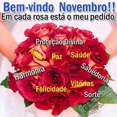 Que saudade de você: Bem vindo Novembro!!
