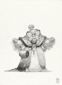 bladmoran:    Sketchtober | 002