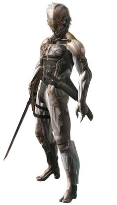 'My place is here on the battlefield.' - Raiden, METAL GEAR SOLID