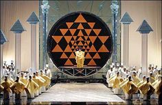 Out of Egypt: Five Operas Set on the Nile - New York Metropolitan Opera Hou Julie Taymor, The Magic Flute, Mozart, Metropolitan Opera, World Religions, The World's Greatest, Occult, New York, Decoration