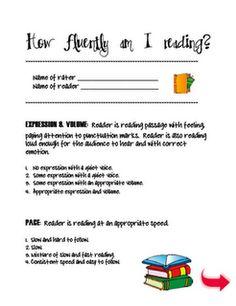 fluency folder homework