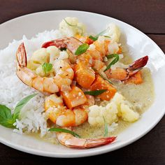 Coconut Shrimp Curry