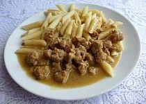Sójové kostky na hořčici Tofu, Chicken, Meat, Ethnic Recipes, Cubs