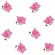 FREE printable #nursery pattern paper   #littlepig #seamlesspattern