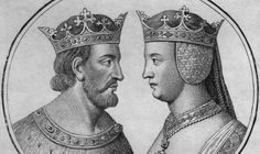 King Henry IV of England and wife Joanna of Navarre