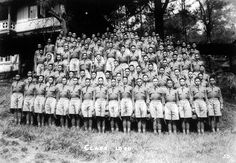Class of 1940 in drill uniform, Philippine Military Academy, Baguio, 1936 Class Pictures, Old Pictures, Cool Photos, Interesting Photos, Military Academy, Pinoy, Filipino, Over The Years, Philippines