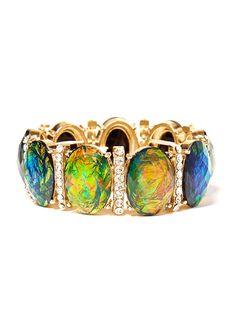 make a pop with our fierce fire opal bangle