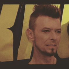 #Davidbowie #Mohican