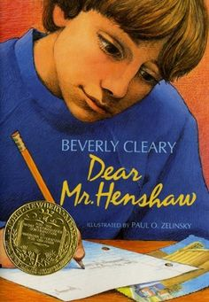 Dear Mr. Henshaw by Beverly Cleary You will love this one also! :)