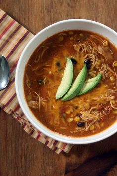 Copycat Chili's Chicken Enchilada Soup Recipe