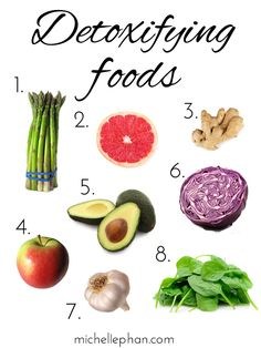 8 Detoxifying Foods #detox #health