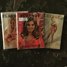 Know someone that loves vintage Playboy?  We have them in the shop and they are only $12 ea. Makes a great white elephant gift.