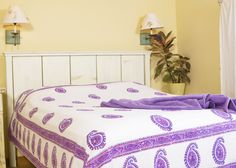 AMETHYST AMORE COLLECTION Attiser carries hand block printed collection of Indian textiles . Collection have a themed decor of sheets printed intricately with hand by artisans of India. These bedspreads are unique decorative sheets with luxury soft Purple Bed Sheets, Purple Bedding Sets, Turquoise Bedding, Paisley Sheets, Paisley Bedding, Queen Bed Sheets, Queen Size Bedding, Luxury Bedspreads, Indian Bedding