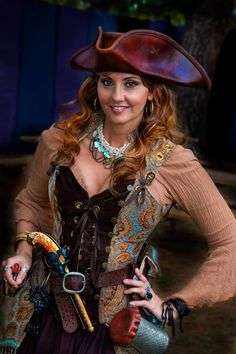 Lady Pirate Costume Ideas