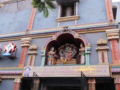 Lakshmi Narasimha Temple - Nanganallur  #IndianColumbus  http://indiancolumbus.blogspot.com/2016/06/nanganallur-narasimha.html