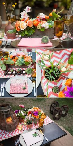 Do you dream of a destination wedding yet don't want to compromise cute decor and design. This event design is amazing! Signature Mexico Events ---> http://signaturemexico.com/
