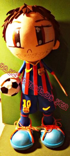 Fofucho futbolista del Barça