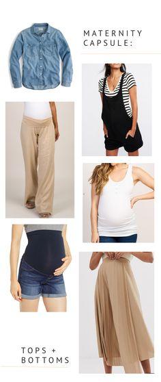 Pregnancy - Capsule Wardrobe - maternity