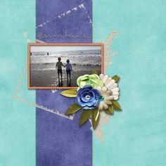 Sunshine - Digital Scrapbooking Layout I created using Sandcastles & Surf by…
