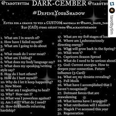 Looking forward to trying out my first month of the Tarot challenge. : ) Seems like a cool topic.  #Repost @tarotbytim with @repostapp. ・・・ Tomorrow is the day! Soooo many people have joined already I almost can't believe it. Are you ready to #DefineYourShadow with us?  #tarot #tarotcards #tarotreading #divination #witchcraft #witchesofinstagram #tarotreadersofinstagram #cartomancy