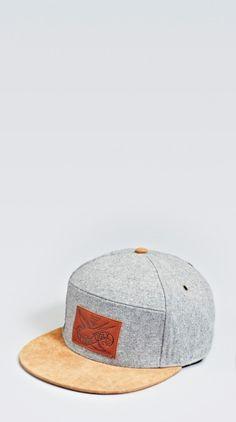 Grey Six Panel - Headwear