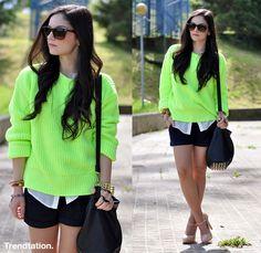 ¡Fluorízate! - StreetStyle - Moda Primavera Verano 2012 - Lo último en tendencias, glamour y celebrities - ELLE.ES