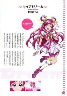Yes Pretty Cure 5 Go Go! - Nozomi Yumehara/Cure Dream My fav Precure Futari Wa Pretty Cure, Hair Rings, Glitter Force, Cardcaptor Sakura, Pink Eyes, Magical Girl, Shoujo, Mobile Wallpaper, Pink Hair