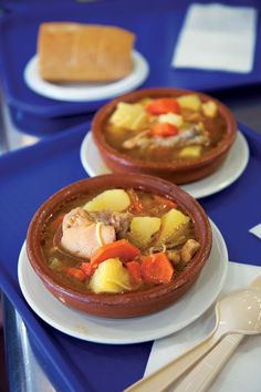 Sancocho (Chicken and Root Vegetable Soup)  This Puerto Rican chicken soup, laden with starchy vegetables, makes for a truly hearty meal. This recipe first appeared in our December 2011 issue