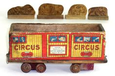 vintage toy circus trains - Google Search