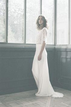... about Robes de mariée on Pinterest  Robes, Vera wang and Rosa clara