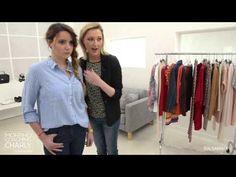VIDEO : Conseils mode & morphologiques pour une silhouette en V : le relooking de Charly Modeuse !