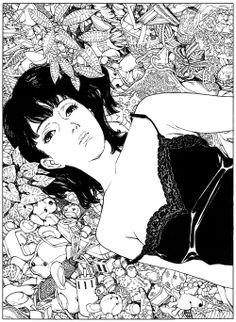 artbooksnat:  Satoshi Kon had amazing attention to detail, which...                                                                                                                                                                                 Plus