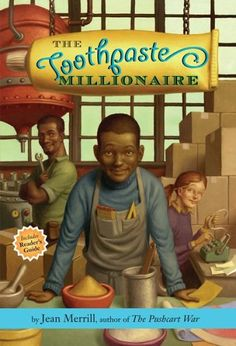 The Toothpaste Millionaire.This could be just a great summer read or it could spark a Lesson in Economics and Math! If you wanted to use this book for an English class, there are excellent discussion questions in the back of the book.