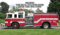 2000 Pierce Dash with 1500 gpm Waterous Pump and poly tank for sale at Firetec. Call or text Fire Trucks For Sale, Poly Tanks, Used Engines, Fire Apparatus, Fire Engine, Fire Department, Pumping, Engineering, Fire Dept