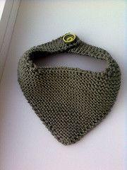 New Baby Crafts For Boys Bandana Bib Ideas Crochet Bib, Crochet Pattern, Loom Knitting, Baby Knitting, Bandana Bib Pattern, New Baby Crafts, Big Knit Blanket, Big Knits, Knitted Bags
